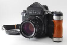 Pentax 67 6x7 Eyelevel Medium Format Film Camera w/105mm F/2.4 Lens Grip B745