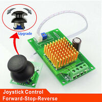 PWM DC 12V 24V 30V 6A Motor Speed Controller Normal-Stop-Reverse Switch