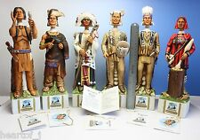 Ski Country 6 Indian Whiskey Decanter 4/5 Size Japan in Original Factory Package