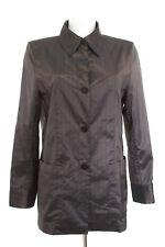 TONI GARD Bluse Gr. DE 38 Damen Blouse Silk Shirt Braun Seide