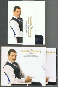 FREDDIE MERCURY (QUEEN) SPECIAL EDITION INCLUDING 5 FULL PHOTOS CD ALBUM