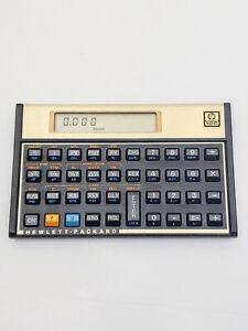 HP 12C Financial Calculator Hewlett Packard