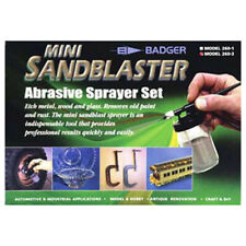 BADGER AIR-BRUSH 2603 MODEL 260 MINI SANBLASTER ABRASIVE SPRAYER SET