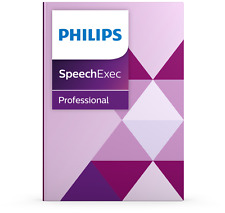 Philips PSE4400 SpeechExec Pro Dictate with speech recognition software