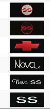 Nova Fit Carpet Floor Mats 4PC 1974-1979 Pick Logo (Fronts) & Original Mat Color
