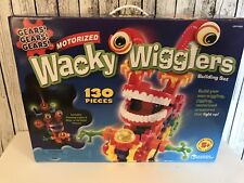 Wacky Wigglers Huge Motorized Building Set Learning Resources Gears Complete 130