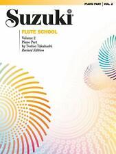 Suzuki Flute School: Piano Part Volume 2