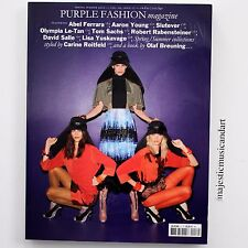 PURPLE FASHION ROBERT LONGO TERRY RICHARDSON LISA YUSKAVAGE KARLY SCIORTINO MINT