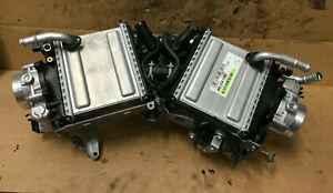 2015- MERCEDES C63 C63S W205 AMG CHARGE COOLERS M177 A1770901114 A1770105204