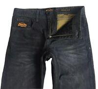 Superdry Copper Denim Classics Men's Black Jeans W29 L30 - Great Condition