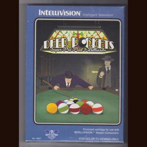 Deep Pockets Super Pro Billiards for Intellivision. BSR edition  NIS