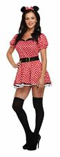 Adult Female Sexy Mouse Fancy Dress Dressing Up Outfit Costume Hen Do NEW