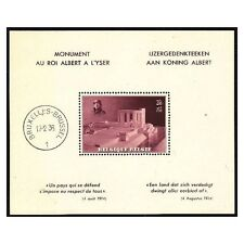 POSTZEGELS-STAMPS-TIMBRE - BELGIQUE -  BELGIE 1938 BLOK NR. 8**  (ref.59)