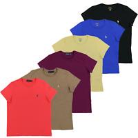 Ralph Lauren Womens T Shirt Jersey Tee Crew Neck Short Sleeve Xs S M L Xl Nwt Rl