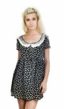 Ladies Nwt Alternative Too Fast Rabbit Dress Large Emo Baby Doll Bunny Goth Punk