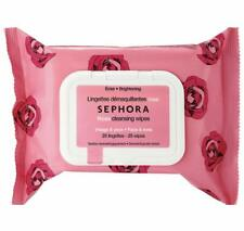 Sephora Wipes Rose 🌹 25pc Package Cleansing Towelettes