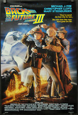 Back To The Future Iii Orig 1990 Movie Poster Michael J. Fox Christopher Lloyd