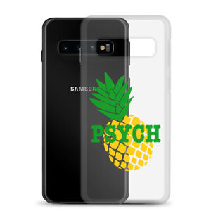 Psych TV Show Pineapple Logo Samsung Case, Phone Case for Samsung Galaxy
