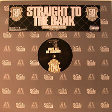 "50 CENT - STRAIGHT (DROIT) TO THE BANK 12"" MAXI (K938)"