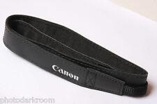 """Canon 3/8"""" Nylon Web and 7/8"""" Pleather Camera Strap - NEW Bulk Open Stock V725"""