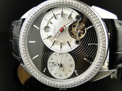 Mens Aqua Master Joe Rodeo Rio Diamond Watch 1.75 Ct