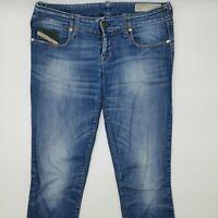 Diesel Grupee Wash 0601I_Stretch W28 L32 blau Damen Designer Denim Jeans Hose