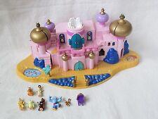 1996 Bluebird Aladdin Jasmin Palace Playset with 7 Figures Polly Pocket