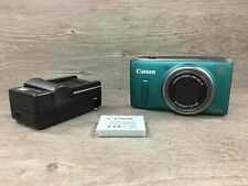 Canon PowerShot SX260 HS Digital Point and shoot Green