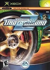 Need for Speed: Underground 2 (Microsoft Xbox, 2004) - disc + manual + case