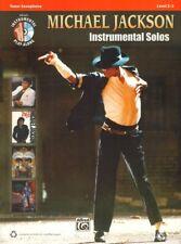 Michael Jackson Instr. Play-Along Tenor Saxophone Sax Tenorsaxophon Noten mit CD