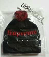 Supreme Old English Beanie Black ColourWay *Brand New* One-Size *DS*