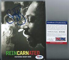 Snoop Lion Signed DVD Case Autographed Reincarnated PSA/DNA COA Snoop Dogg Auto