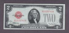 $2 1928C Beautiful AU+ RED SEAL United States Note!