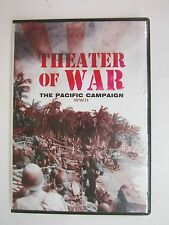 Theater Of War Pacific Campaign (DVD, 2012) - WORLD WAR II - 6 EPISODES