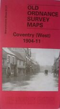 Old Ordnance Survey Map Coventry West Warwickshire  1904-1911  S21.11 New Map