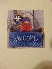 "Wood Craft Pattern "" Welcome"""