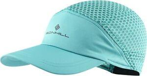 Ronhill Air-Lite Running Cap Blue Lightweight 42g Breathable Adjustable Strap