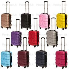 Ryan air Easy Jet Approved cabin size Hard Shell Luggage 4 Wheel Fits 50x40x20