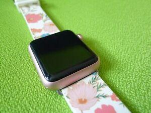 Apple Watch 7000 Series 38mm Rose Gold Aluminum Case Kate Spade Band