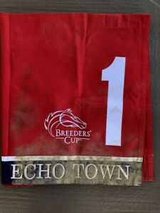 ECHO TOWN BREEDERS' CUP SPRINT SADDLE CLOTH