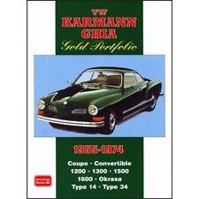 VOLKSWAGEN Karmann Ghia Cartera De Oro 1955-1974 libro papel