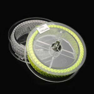2pcs Super Strong Fly Fishing Line Lightweight Backing Polyester Braided Lines
