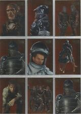 Planet of the Apes Movie (2001) - Embossed Foil Set of 10 Chase Cards #F1-10