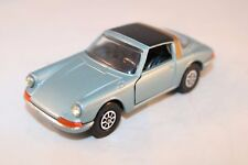 Corgi Toys 382 Porsche Targa 911S Light metallic blue version perfect MINT