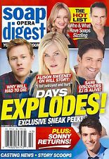 Soap Opera Digest October 19 2015 Days of Our Lives The Hot List Gordon Thomson