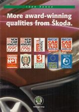 Skoda Felicia 1997-98 UK Market Sales Brochure Hatchback Estate Cube Van Pick-Up