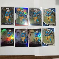 2020 Panini Prizm Joshua Kelley Red White & Blue & 2 Base RC And More 8 Card Lot