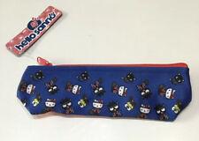 ~ NEW! Hello Kitty Sanrio World Market Fabric Pouch Pencil Case Keroppi Chococat