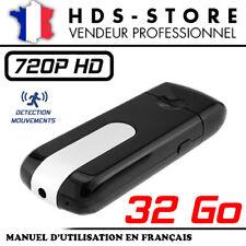 USBCAM1-HD CLÉ USB CAMÉRA ESPION HD 720P + 32 GO DÉTECTION VIDÉO PHOTO AUDIO