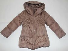 Dkny Kids Girls Winter Insulated Puffer Coat/Jacket Brown sz 6X